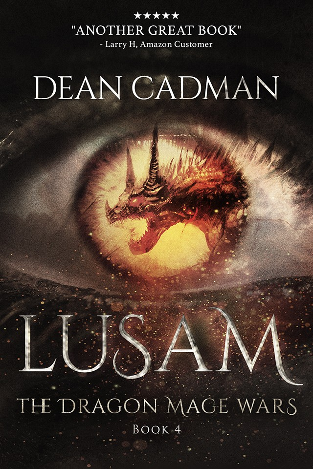 Lusam - The Dragon Mage Wars - Book 4