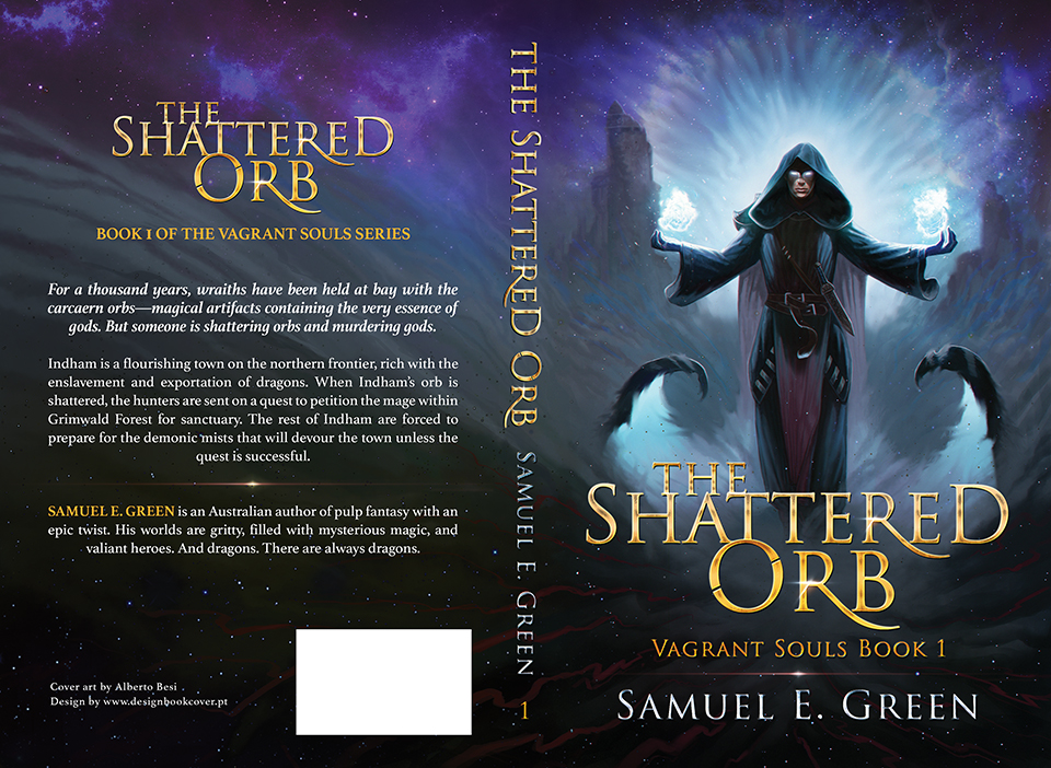 Fantasy Book Cover Artists For Hire : Design book cover the shattered orb vagrant souls